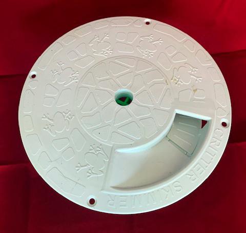 10 inch round - white