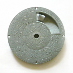 9 Inch Round Gray